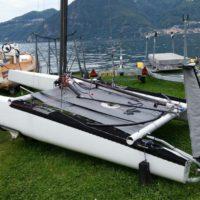 Catamarano Classe A con Foils