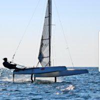 Brewin sails