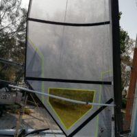 Vendo vela Challenger decksweeper 2017 + boma curvo in alluminio